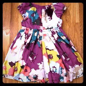 EUC Cherokee satin party dress